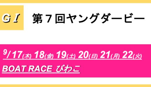 【びわこ】G1第7回ヤングダービー(最終日) 競艇予想